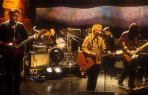 Radiohead on Later with Jools Holland in 1995