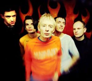 Radiohead in October 1993