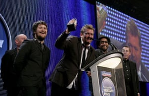 Elbow at the 2008 Mercury Prize