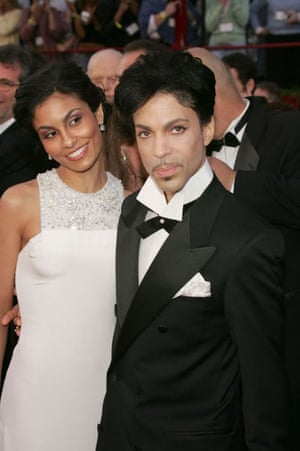 Prince and Manuela Testolini at the 77th Annual Academy awards in Hollywood