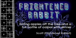 Frightened Rabbit advent