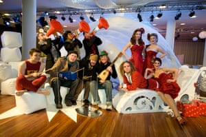 The Lost and Found Orchestra, the Puppini Sisters, Tim Minchin and Pappy's Fun Club