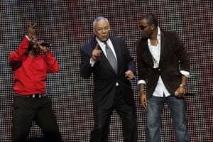 Colin Powell raps