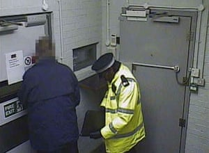 1.22am Mr Dixon's security ppass is used to gain access to the depot