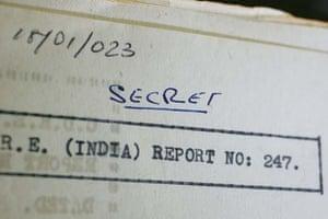Secret report