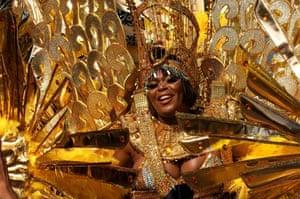 Gold costume