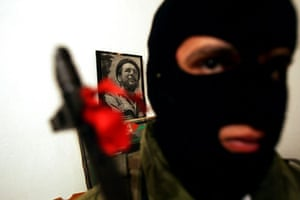 A fighter with the left wing PFLP