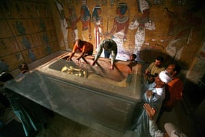 King Tut uncovered