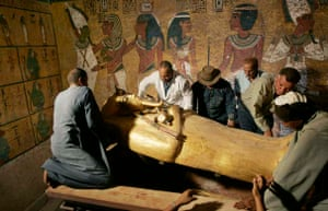 Lifting the lid of the tomb