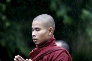 Burma protests
