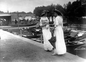 Suffragettes at Henley Regatta