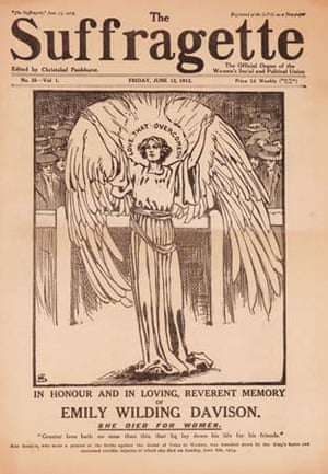 The Suffragette newspaper commemorates Emily Davison