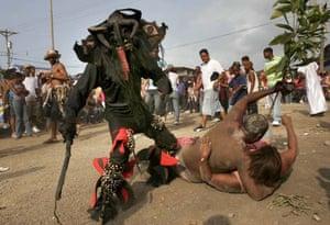 Congos and Devil carnival ritual