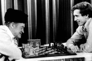Chess legend Bobby Fischer