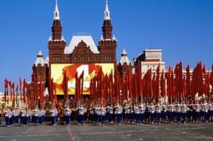 May day parade Moscow