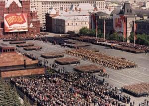 May parade Moscow