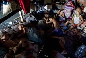 Slum children in Philippines