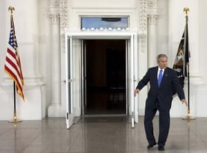 President Bush dances