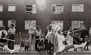 A parade in East London 1977