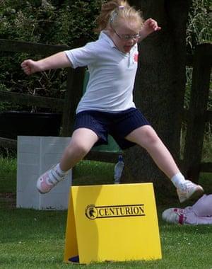 Heather Saunders: Overcoming hurdles