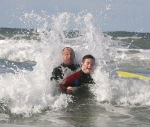 Joseph Doyle: Surf's up at Polzeath