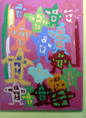 Large Canvas People by Joy Reid