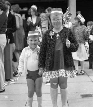 Thamesmead, Queen's silver jubilee, 1977