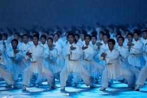 Beijing Olympics: Opening ceremony