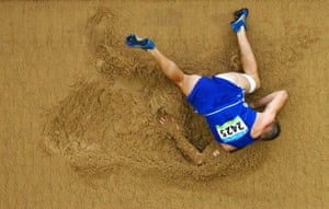 bellyflop long jump
