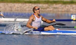 Tim Brabants wins gold