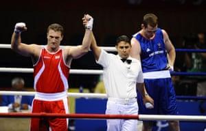 Boxing semi-finals