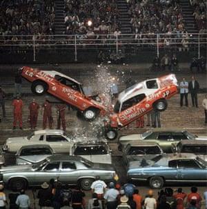 Stuntmen Spanky Spangler and Randy Hill