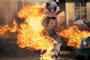 Stuntman Steve Neale