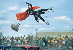 Stuntman John Holland