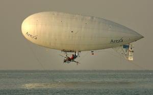 Balloonist Stephane Rousson
