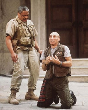 Patrick Stewart as Othello in Washington DC in 1997