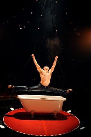 David O'Mer in La Clique at the London Hippodrome