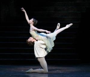 Lauren Cuthbertson as Juliet, Edward Watson as Romeo in Romeo and Juliet