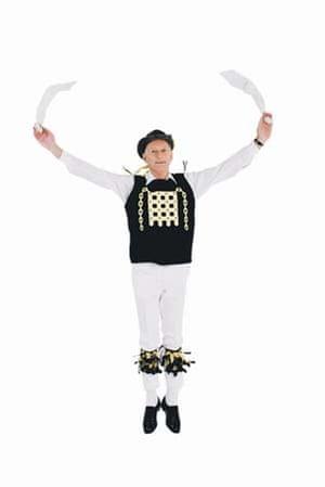 Morris dancer david seaborne