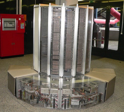 cray research sold a supercomputer to the max