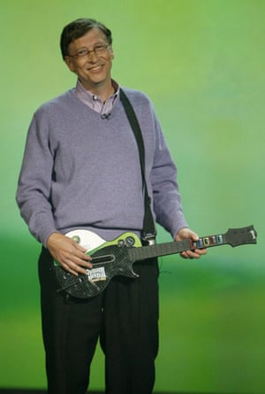 Bill Gates at the Consumer Electronics Show in Las Vegas