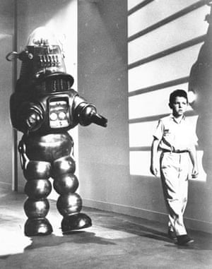 Robby the Robot in a still from Forbidden Planet
