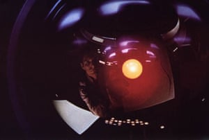 2001: A Space Odyssey. Hal, the thinking computer
