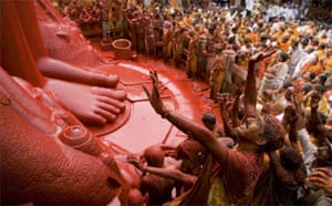 The Mahamastakabisheka Festival, held every 12 years at Shravanabelagola, South India. Karoki Lewis, India/UK. Winner, 'Festival', Single Image Travel Photographer of the Year 2006