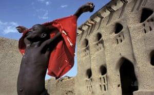 Young boy, Kolenze, Mali.  Remi Benali, France.  Runner-up, 'Celebration' Single Image category, Travel Photographer of the Year 2004