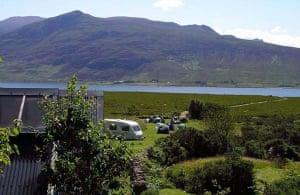 Scottish camping