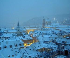 View from Prague Castle, Czech Republic