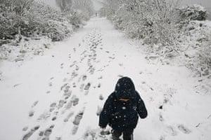 Snow, Shoreham-by-Sea