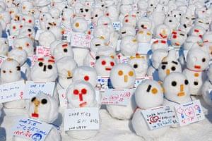 Snow festival, Hokkaido, Japan