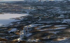 Abisko in northern Sweden